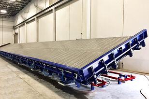 machine de fabrication de parpaing SUMAB Vibrating tables for the production of concrete panels neuve