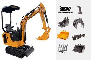 mini-pelle BERGER KRAUS Mini Excavator BK800BS torsion arm with FULL equipment neuve
