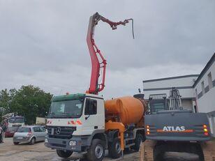 pompe à béton Cifa 28m+9m3 sur châssis MERCEDES-BENZ Actros 3244 8x4 CIFA 28m+9m3 mixer-pump, very nice pump
