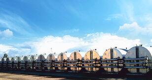 silo à ciment MARINI tankFALT - система термоизолированных резервуаров и трубопроводо neuf